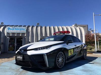 Intip Konsep Modifikasi Toyota Mirai Disulap Sebagai Mobil Polisi