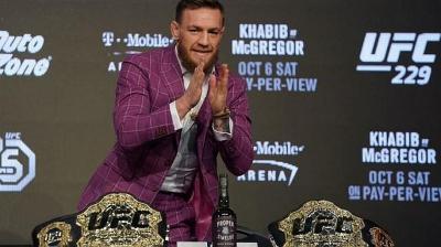 Presiden UFC Ungkap Alasan McGregor Mau Duel Lawan Cerrone