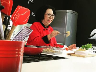 Sisca Soewitomo Bagi Tips Bikin Shabu-Shabu ala Restoran All You Can Eat di Rumah