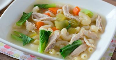 Resep Sup Ayam Makaroni Praktis, Gurih dan Lezat!