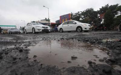 Usai Banjir, 173 Titik Lubang Ditemukan di Jalanan Jakarta