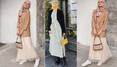4 Inspirasi Outfit Padu Padan Blazer untuk Hijabers ala Selebgram Fira Assagaf