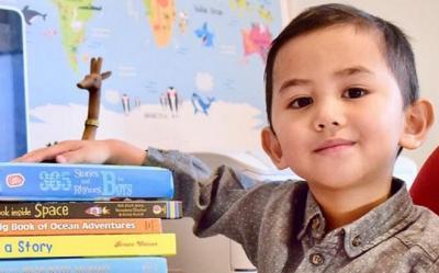 Jenius, Bocah Tiga Tahun Ini Sukses Masuk Mensa!