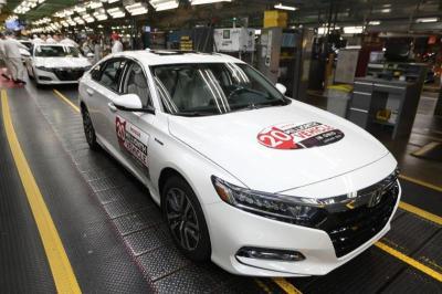 Rayakan Produksi 20 Juta Unit, Pabrik Honda di Amerika Serikat Bikin Accord Edisi Khusus