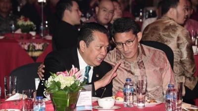 Bamsoet dan Sandiaga Uno Dilantik Jadi Dewan Pembina E-Sport Indonesia