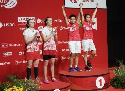 Juara di Kandang Sendiri, Berikut Fakta-Fakta Menarik Indonesia Masters 2020