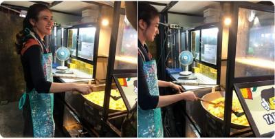 Heboh Penjual Tahu Cantik di Sekitar MRT Haji Nawi, Bikin Kamu Rela Nunggu Lama!