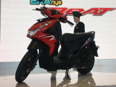 Skuter Matik Honda Vario & BeAT Paling Laris di Luar Negeri