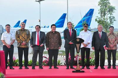 Bangun Terminal 4 Bandara Soetta, Jokowi: Penumpang Semakin Banyak