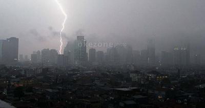 Ini Wilayah di Jakarta yang Diguyur Hujan Deras hingga Siang Nanti