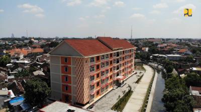 Kementerian PUPR Bangun 16 Rusun di Jawa Tengah