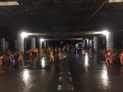 Sempat Terendam, Banjir di Underpass Kemayoran Surut
