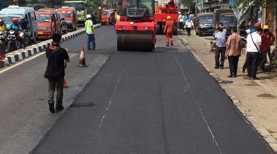Gunakan Teknologi TCM, Tambal Jalan Rusak di Musim Hujan Bisa Lebih Murah?