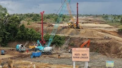 Lampung-Aceh Tersambung Jalan Tol pada 2024