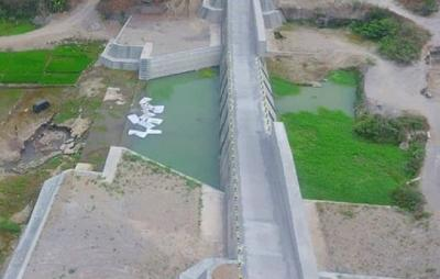 Bendung Sabo Dam Kali Woro Siap Tahan Aliran Erupsi Gunung Merapi