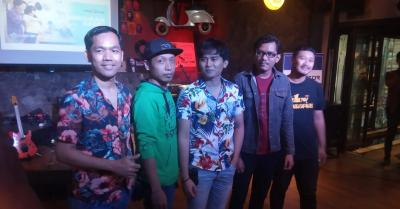 Pengalaman Bikin Konser, Band The Promotor Usung Merindukan Kamu
