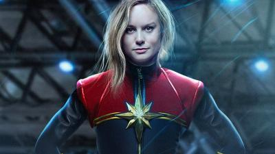 Brie Larson Respons Anggapan Tak Pantas Perankan Captain Marvel