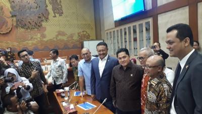 Bahas Jiwasraya, Erick Thohir Minta Rapat Tertutup dengan Panja Komisi VI DPR
