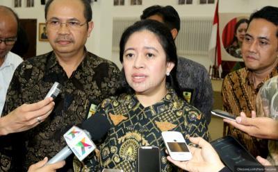 Pimpinan DPR Bertemu Airlangga & Yasonna Bahas Mekanisme Pembuatan UU Omnibus Law
