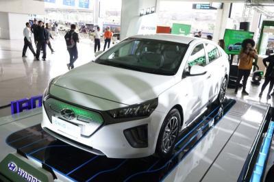 Dibanderol Rp450 Juta Hyundai Ioniq Jadi Mobil Listrik Termurah