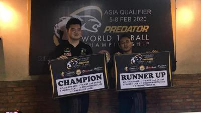 Ferry Jadi Runner-Up di Predator World 10 Ball Championship 2020