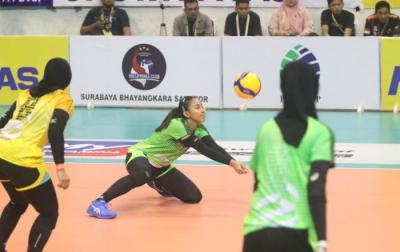 Atasi Bandung BJB, Popsivo Polwan Kunci Posisi 2 Putaran Pertama Proliga 2020