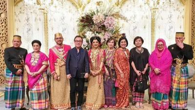 Mewahnya Pernikahan Danny Rukmana & Raiyah Chitra Caesaria, Kental Adat Istiadat
