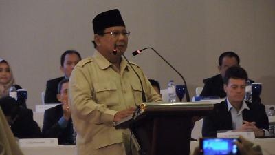 Prabowo Subianto Menteri Paling Terkenal di Kabinet Jokowi-Ma'ruf
