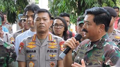 Panglima TNI Didampingi Kapolri Lepas 4 Jenazah Prajurit Korban Heli MI-17 Hari Ini