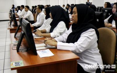 Ujian SKD CPNS Istana Dipantau Bos BKN, Ada Apa?