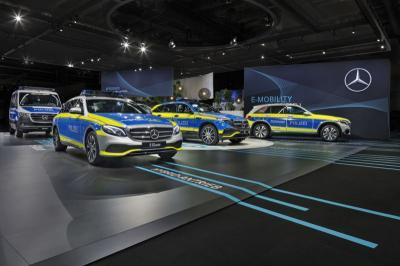 Mobil Polisi Jerman Bakal Tampil Lebih Modern dengan Teknologi Ini