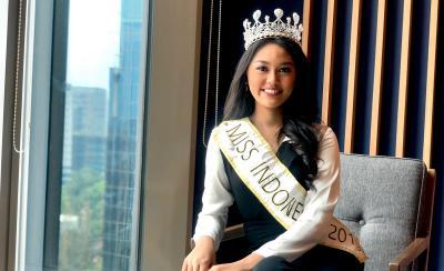 Jelang Lepas Mahkota Miss Indonesia, Princess Megonondo Berharap Bisa 2 Periode
