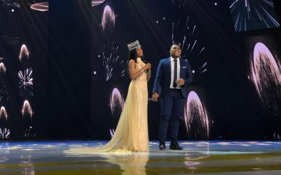 Pesona Miss World 2019 Toni Ann-Singh Duet Bareng Andmesh Kamaleng