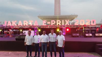 Rencana Produsen Mobil Terkait Gelaran Formula E di Jakarta