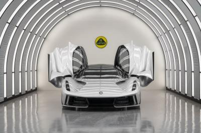 Hypercar Listrik Perdana Lotus Diproduksi Tahun Ini