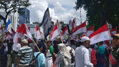 Polisi: Massa 212 Diperkirakan Capai 2.000 Orang