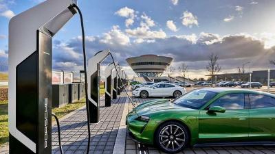 Jerman Miliki Stasiun Pengisian Ulang Mobil Listrik Terkuat di Eropa