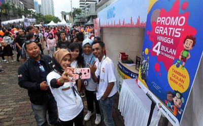 Serunya MNC Vision Networks Ramaikan Orami Family Fun Walk 2020