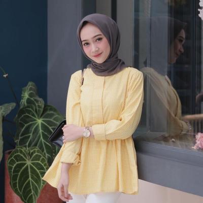 4 Gaya Hijab Bernuansa Kuning, Bikin Kulitmu Semakin Glowing