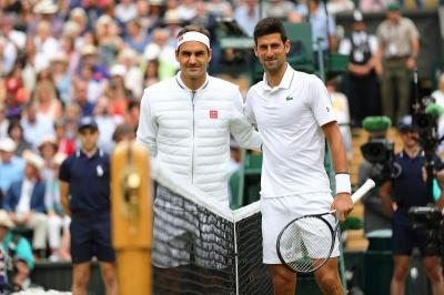 Djokovic Berharap Federer Segera Pulih dari Cedera Lutut