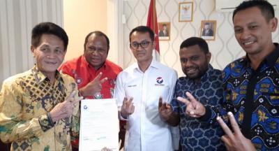 Didukung Perindo, Markus-Rengkung Target Menang 95% di Pilkada Manokwari Selatan 2020