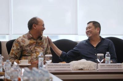 Ke MNC & Bertemu HT, Ketua Satgas Omnibus Law Rosan Roeslani Genjot Sosialisasi & Serap Aspirasi