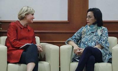 Bertemu Country Director Bank Dunia RI-Timor Leste, Ini yang Dibahas Menkeu
