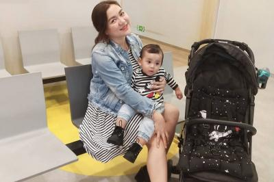 Sebelum Melahirkan, Vicky Shu Negosiasi dengan Bayinya