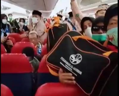 Ketegangan Jamaah Umrah Indonesia saat Pesawat Sempat Dilarang Mendarat di Saudi