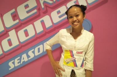 Gaya Unik Peserta Asal Semarang di Audisi The Voice Kids Indonesia di Jakarta