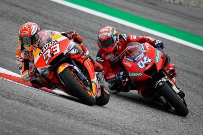 Dovizioso: Marquez adalah Stimulus untuk Semua Pembalap