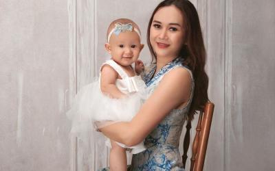 Imutnya Baby Arabella Putri Aura Kasih yang Tumbuh Sehat