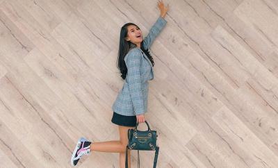 Gaya Hypebeast Soraya Rasyid yang Hobi Tenteng Tas Balenciaga