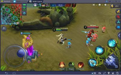Tips Jago Mainkan Marksman di Game Mobile Legends